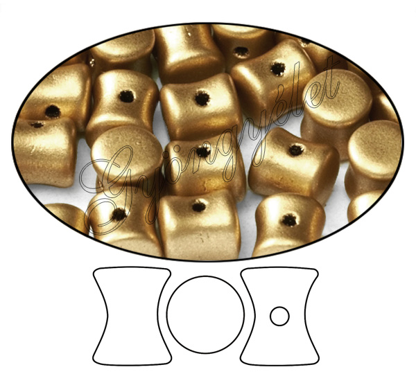 Diabolo 01710 Aztec Gold 6x4mm - 20 db