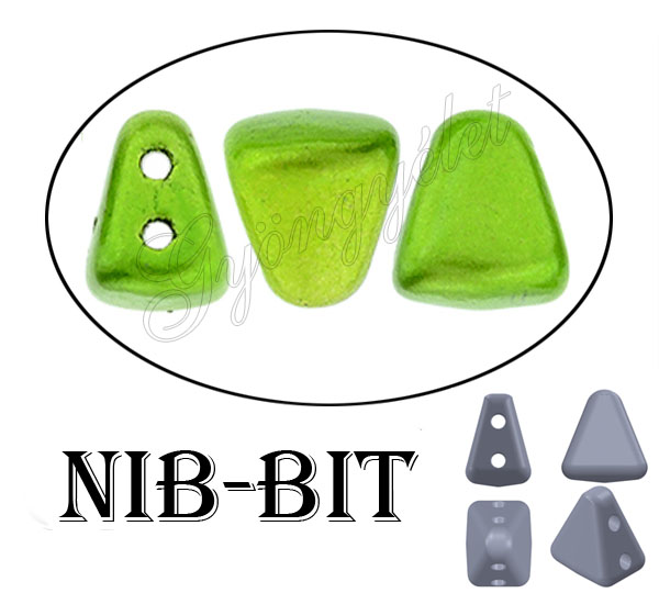 Nib-Bit 24205_JT Apple green, metal - 20 db