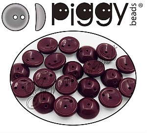 Piggy Bead 13510 Csokibarna 4x8mm - 20 db