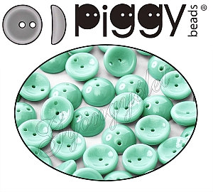Piggy Bead 53110 Jade, telt 4x8mm - 20 db