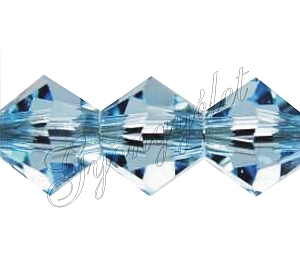 Swarovski Xilion 3mm aquamarine - 1db