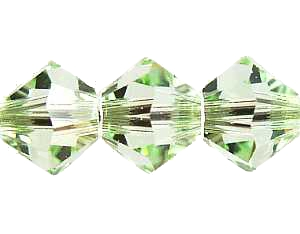 Swarovski Xilion 4mm Chrysolite - 1db
