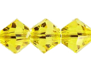 Swarovski Xilion 4mm Citrine - 1db