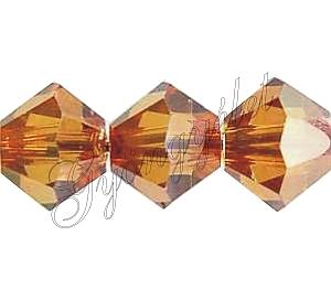 Swarovski Xilion 6mm crystal copper - 1db
