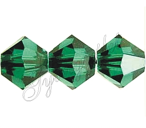 Swarovski Xilion 4mm Emerald - 1db