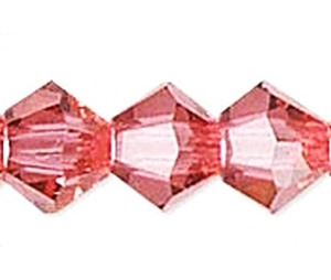 Swarovski Xilion 4mm Indian pink - 50db