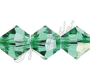 Swarovski Xilion 4mm Light Emerald - 1db