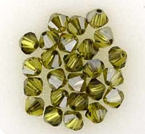 Swarovski Xilion 4mm Lime Satin - 20db