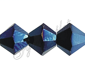 Swarovski Xilion 3mm Metallic Blue 2x - 1db