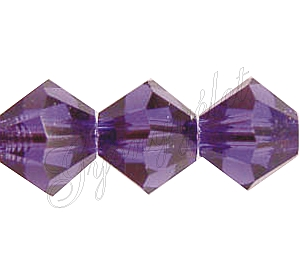 Swarovski Xilion 4mm Purple Velvet - 1db