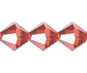 Swarovski Xilion 4mm Red Magma - 1db