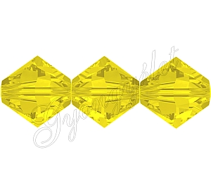 Swarovski Xilion 4mm Yellow Opal - 1db